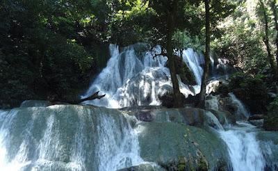 wisata hits Air Terjun Matabuntu makasar