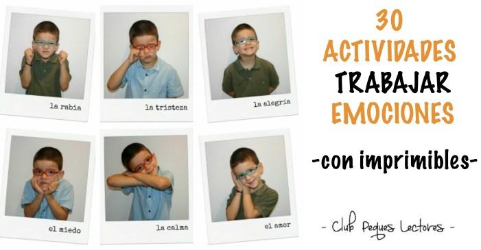 30 Actividades Para Trabajar Las Emociones Con Ninos Descargables