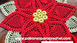 Centro de Mesa Navideño Tejido a Crochet / Tutorial