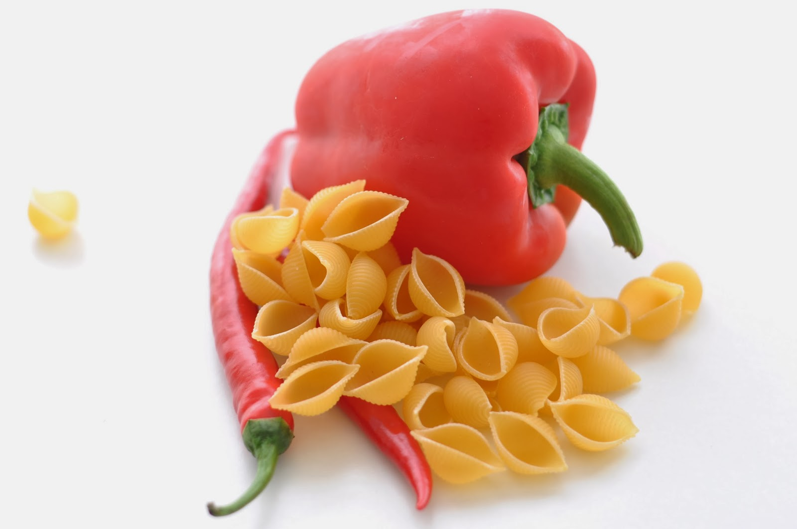 Roasted Red Pepper and Tomato Pasta ~ Simple Food