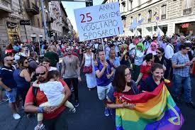 Italy approved Gay Civil Union's Bill