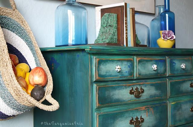 Turqouise Iris What Paint Do You Use