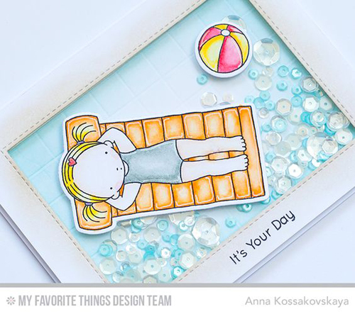 Handmade card from Anna Kossakovskaya  featuring products. from My Favorite Things #mftstamps