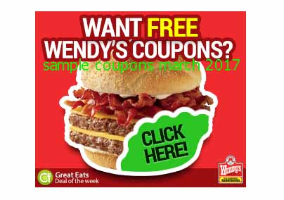 Wendys coupons nz