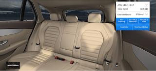 Nội thất Mercedes AMG GLC 43 4MATIC 2019 màu Vàng Silk 225