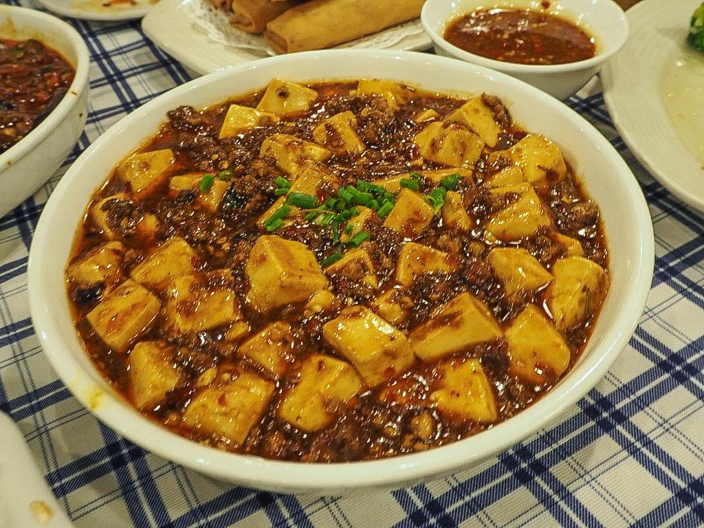Mapo tofu at Di Shui Dong, Shanghai