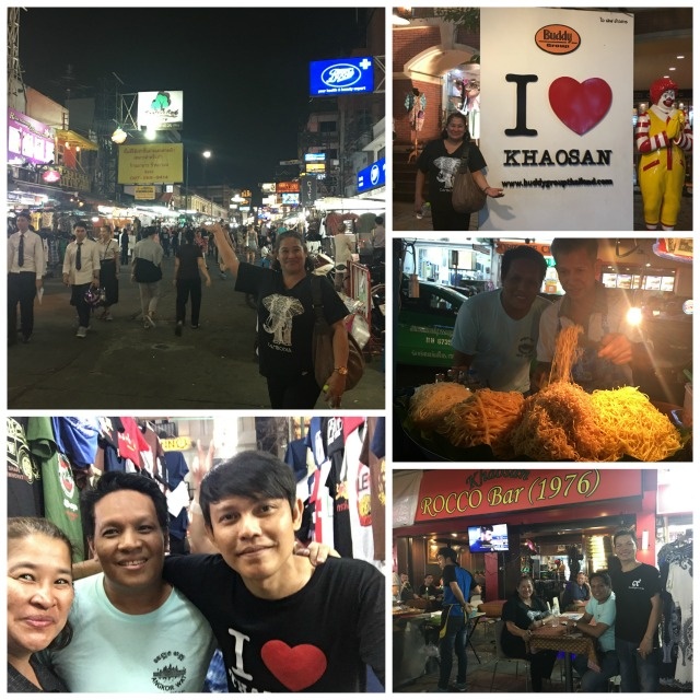 Khaosan Road with the friendly Thai people