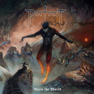 "Portrait - ""Martyrs"" from the album ""Burn the World"""