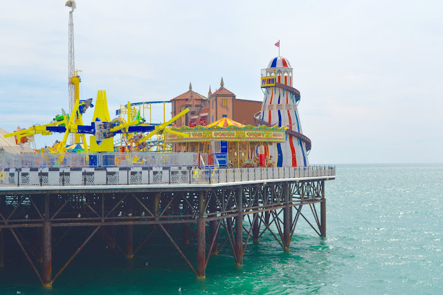 Brighton Pier and sea