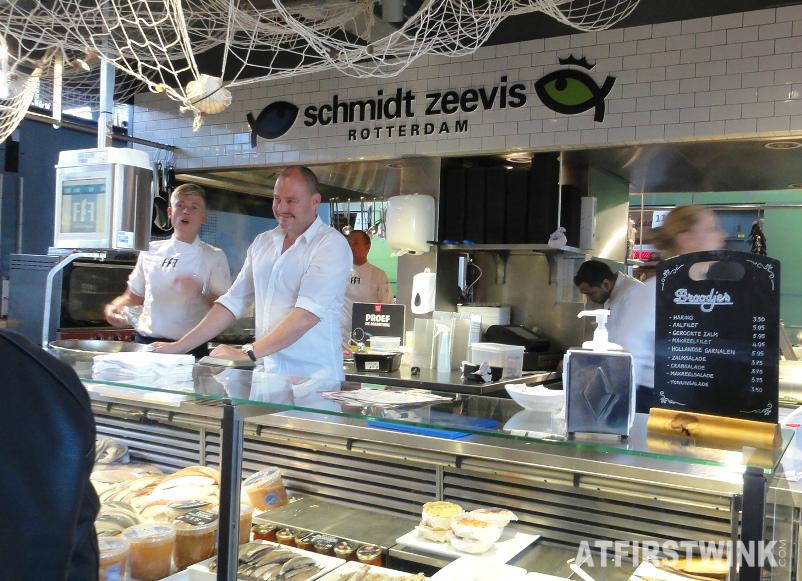 Fresh Food Friends markthal Rotterdam schmidt zeevis seafood