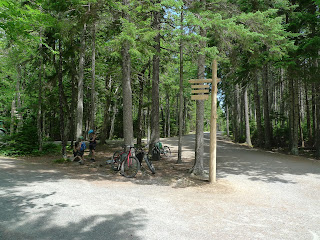 Acadia-National-Park-Cadillac-Mountain-Carriage-Trails-interesection