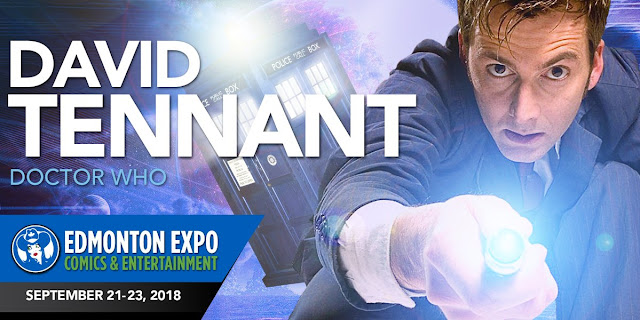 David Tennant - Edmonton Expo fan convention