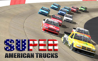 Screenshots of the Super american trucks lite for Android tablet, phone.
