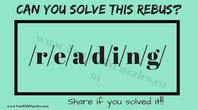 Easy Rebus Puzzle