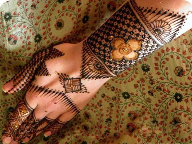 Pakistani Mehndi Designs Images