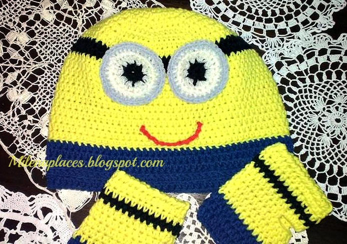 My Places Minion Blanket Crochet Instructions Pattern Updated