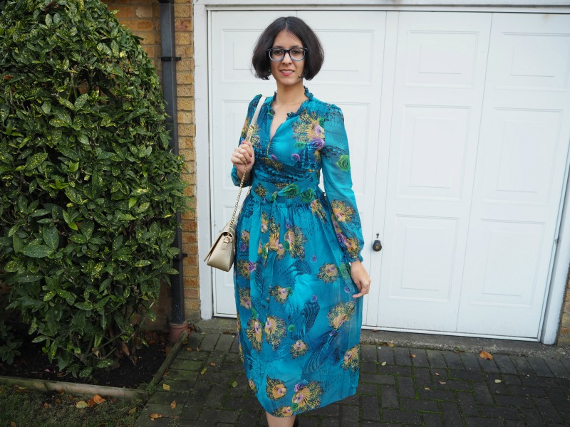 Zaful patterned dress review