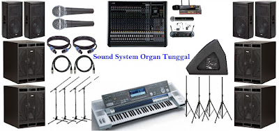 Sound-System-Organ-Tunggal