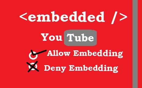 youtube embedding