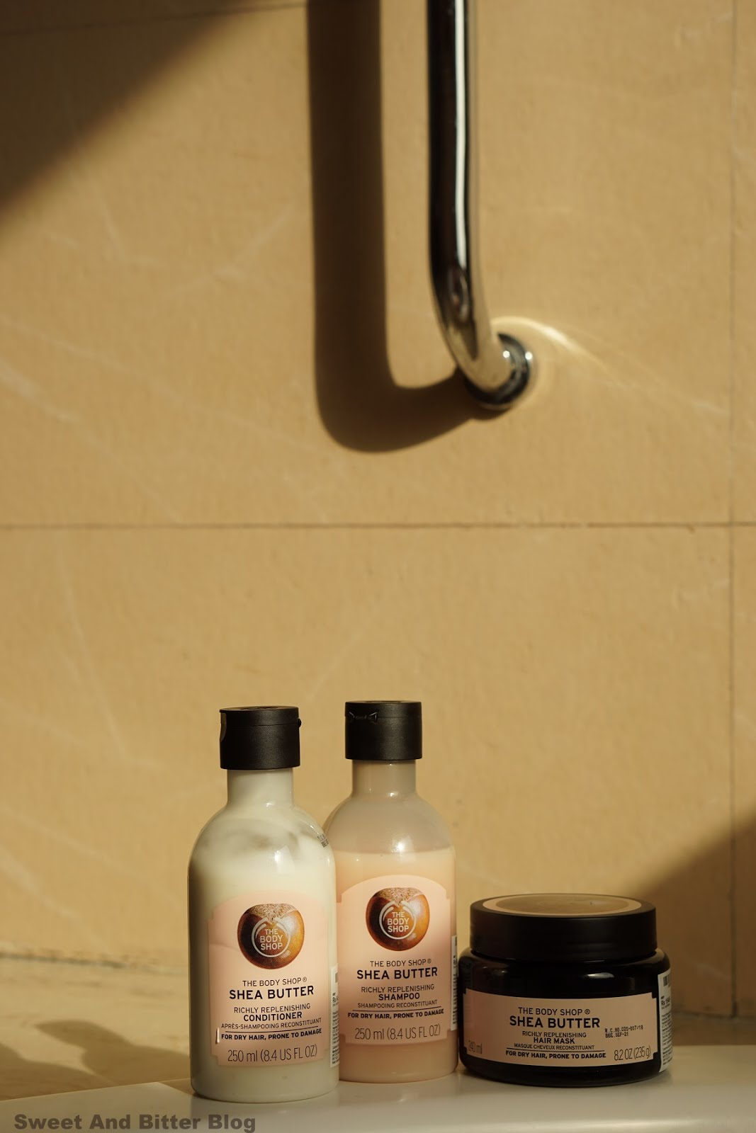 The Body Shop Shea Richly Replenishing Shampoo Conditioner Hair Mask Review India