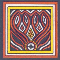Ukiran Toraja Pa' Tanduk Re'pe