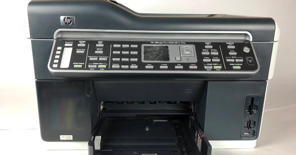 hp l7650 printer driver