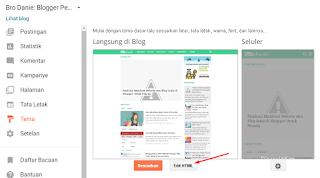 Cara Membuat Breadcrumbs Navigasi Pada Blogger