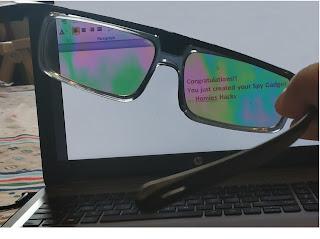Make your monitor screen Private