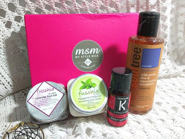September MSM box