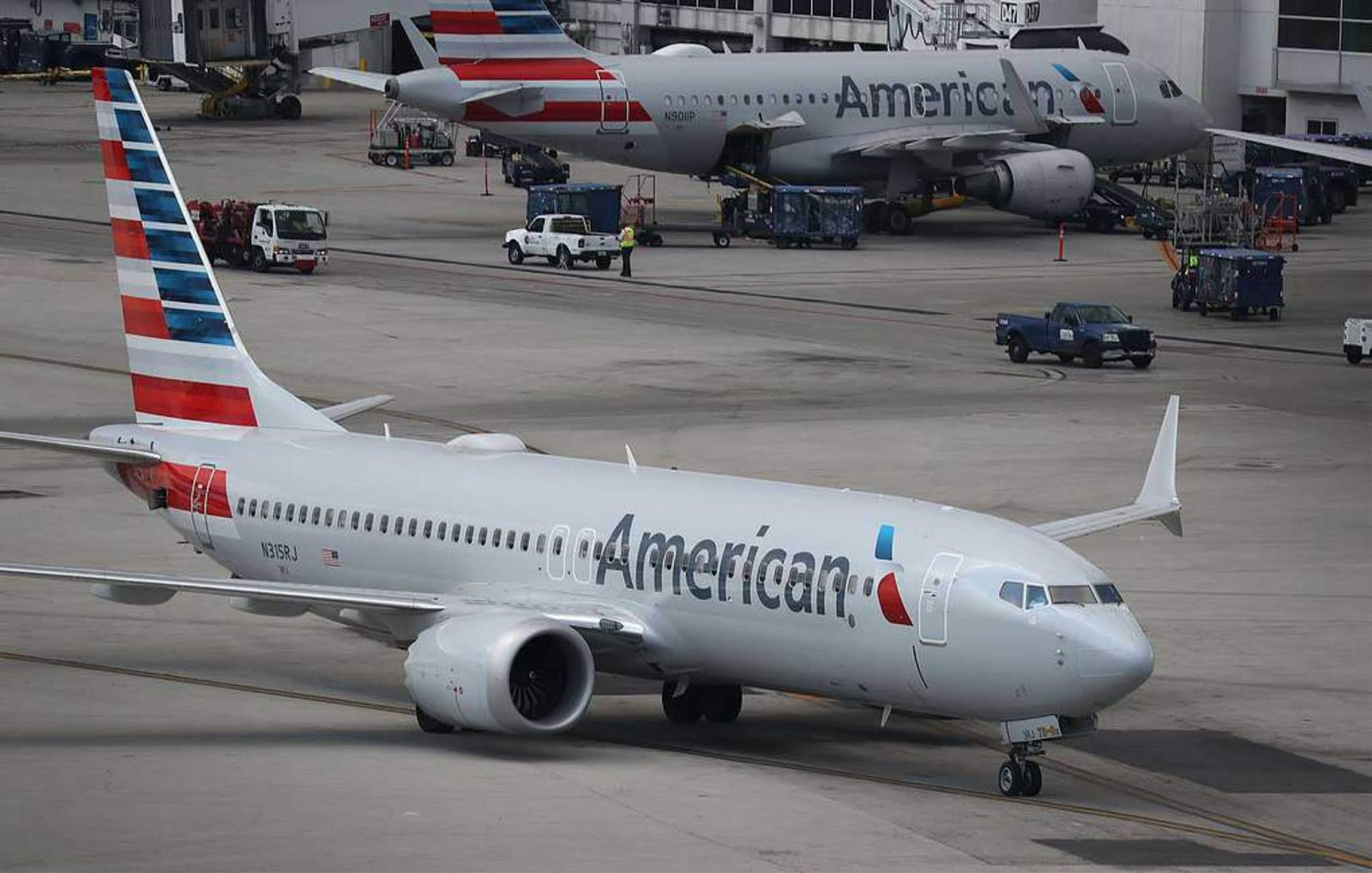 AS menangguhkan semua penerbangan pesawat Boeing 737 MAX 8 dan MAX 9