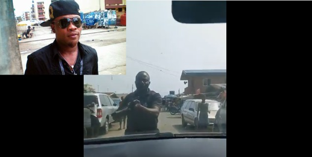 [VIDEO] AfricanChina reveals how Armed Policeman Threatened to shoot him