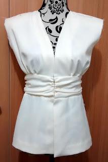 Confección chaqueta kaftán Aris Agoriuq de El Tiempo entre Costuras Tutorial Baúl de las Costureras