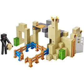 Minecraft Desert Playset Survival Mode Figures