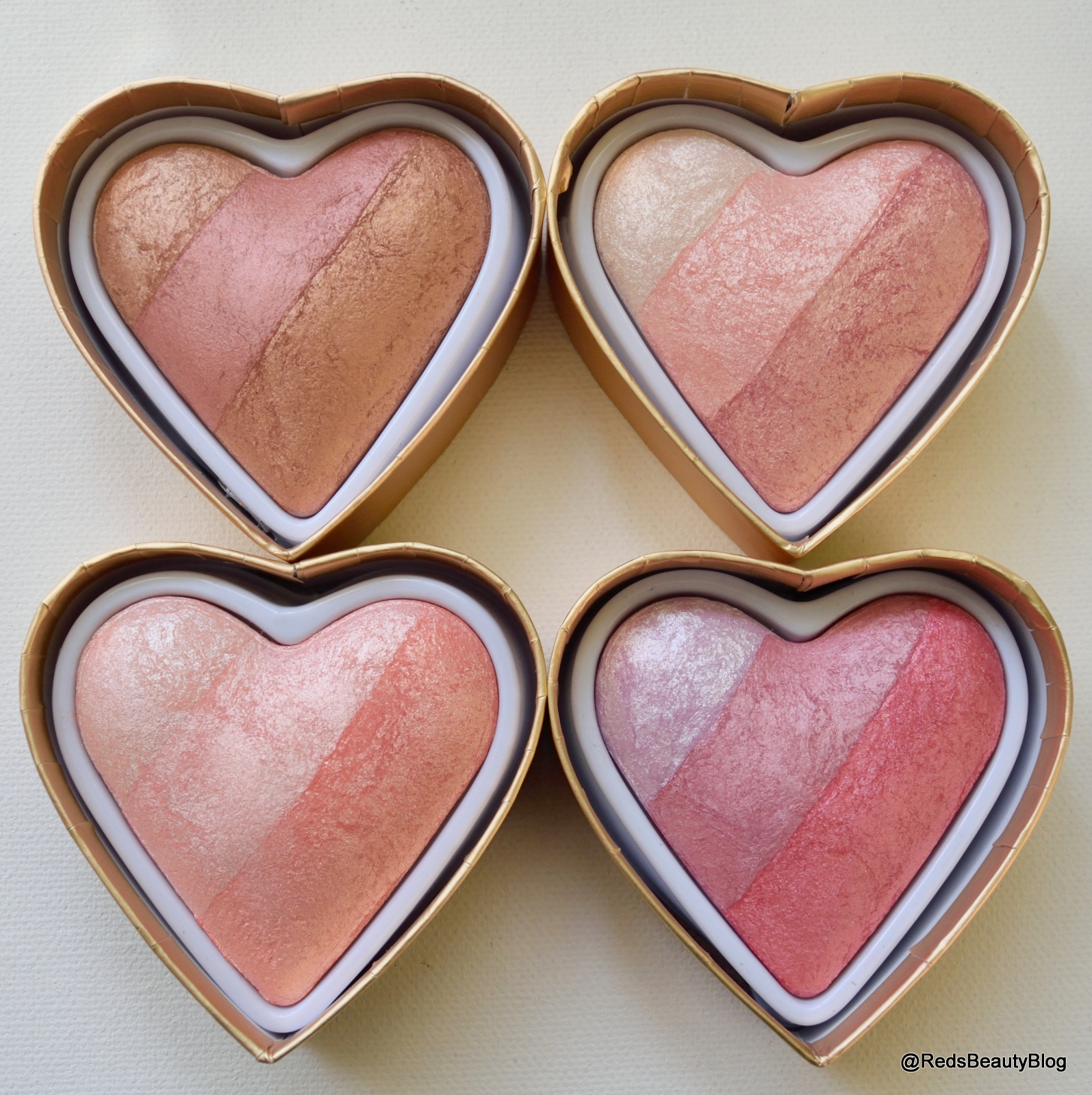 a picture of Makeup Revolution Blushing Hearts