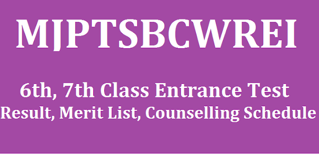 TS State, Counselling, TS BC Residential, TS Residentials, MJPTBCWREIS, Merit list, Schedule, TS Admissions, Residential CETs, TS CETs