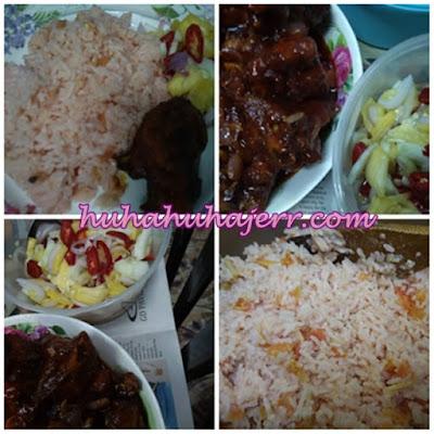 Resepi Nasi Tomato, Ayam Masak Merah Dan Jelatah