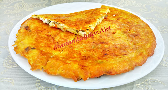 Tavada Peynirli Patates Böreği