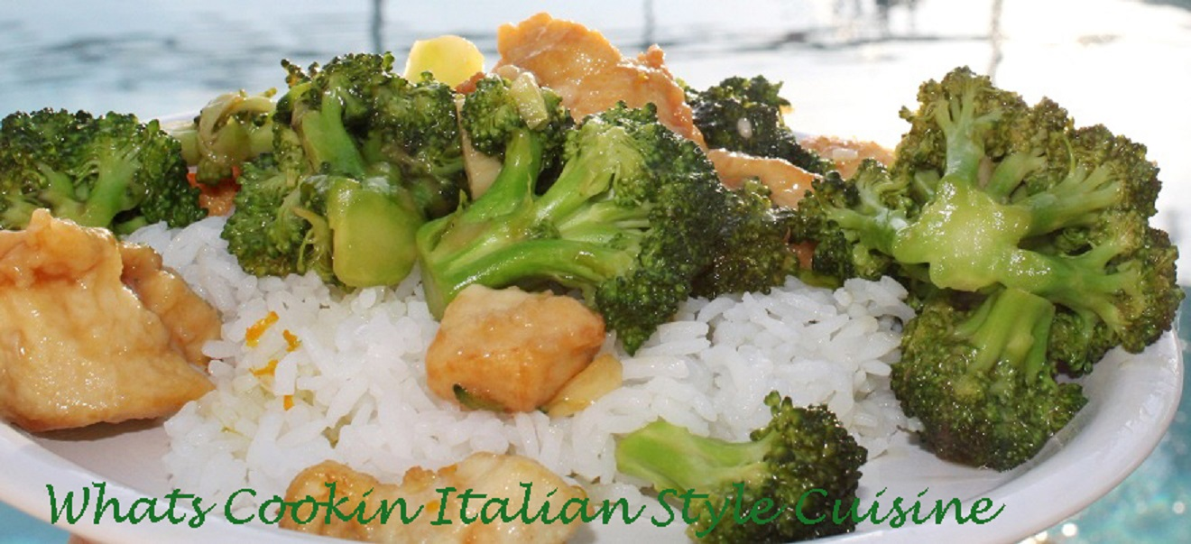 Asian Chicken Broccoli Recipe