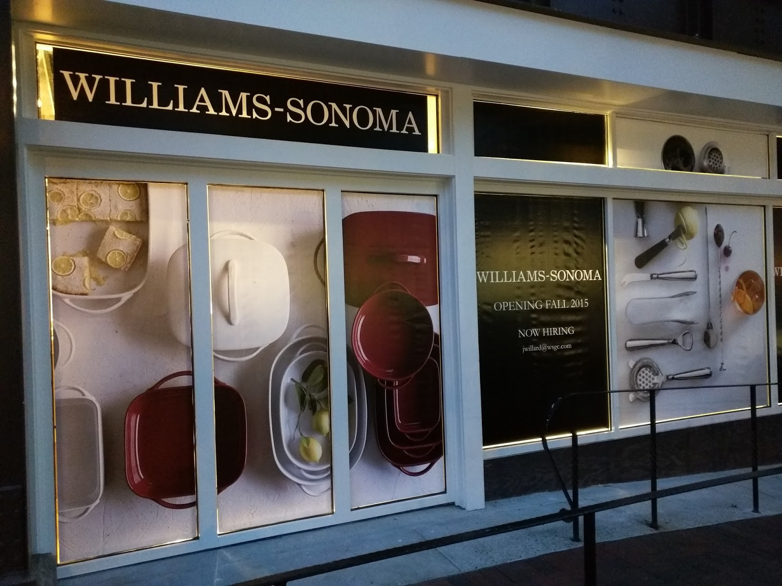 Robert Dyer At Bethesda Row Signs Of Life At Williams Sonoma Kit