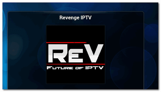 Revenge add-ons For IPTV XBMC | KODI