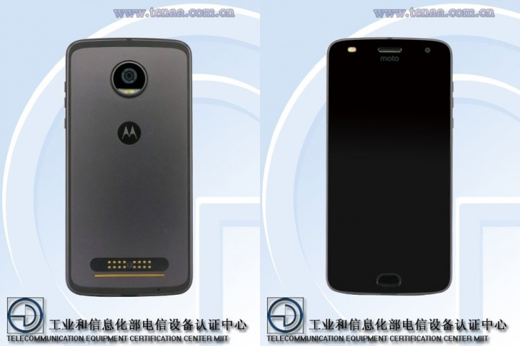 Moto Z2 Play Spotted on TENAA in Lunar Gray Color