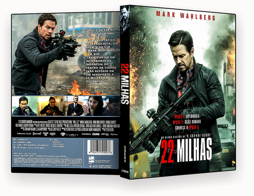 CAPA DVD – 22 MILHAS – 2018 DVD-R