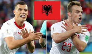 Tiga Pemain Swiss Kena Sanksi FIFA Akibat Selebrasi Politis