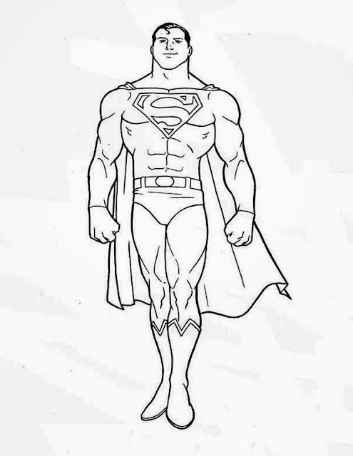 colours drawing wallpaper Superman