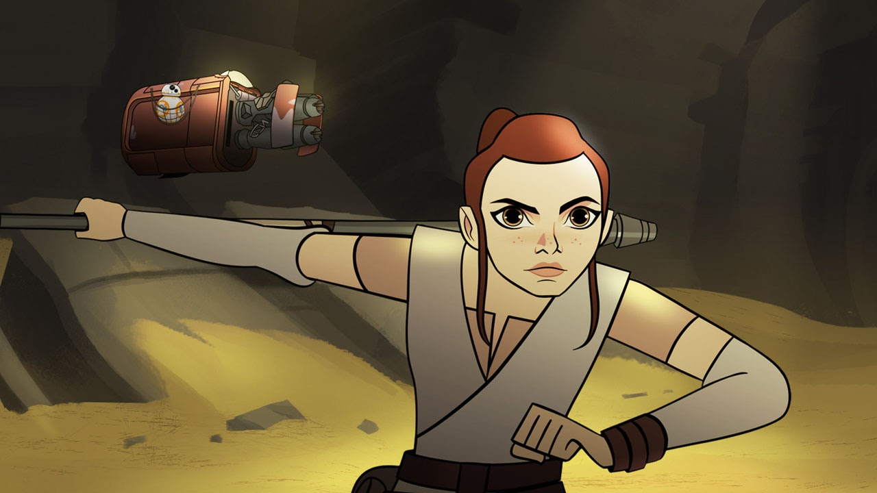 sands of jakku : star wars forces of destiny :「スター・ウォーズ
