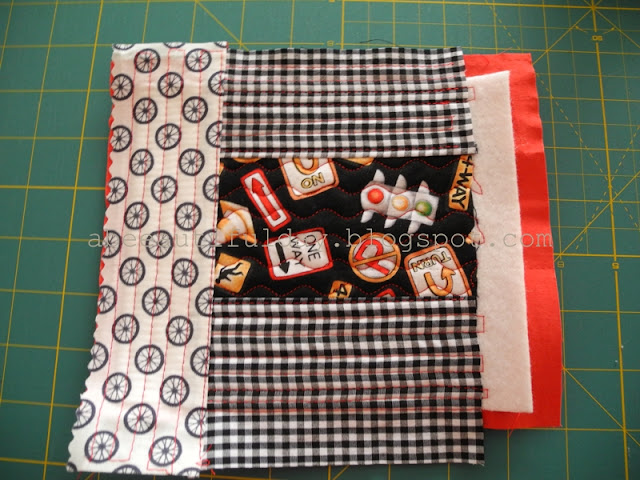 Quilt-As-You-Go Pouch Tutorial - abeeautifulday.blogspot.com