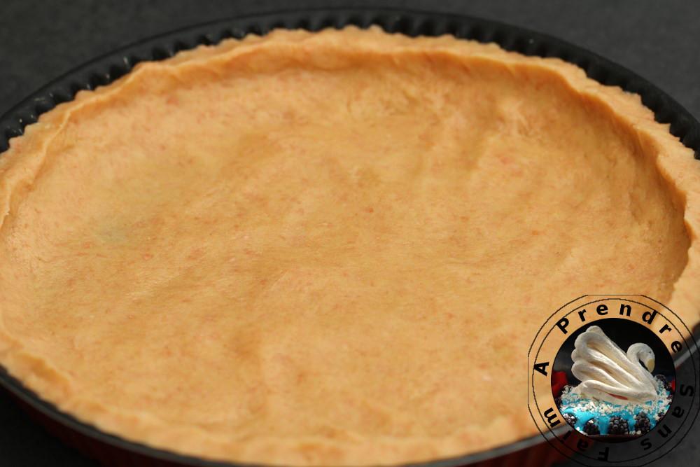 Pâte à la poudre de biscuits roses de Reims