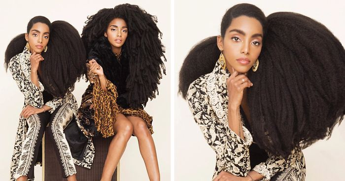 These Twin Sisters Were Ashamed Of Their Incredible Hair, But Now They Became Famous For It