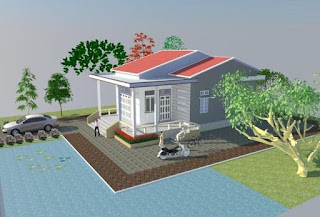 xây nhà cấp 4 khoảng 300 triệu, xây nhà cấp 4 nông thôn tại biên hòa