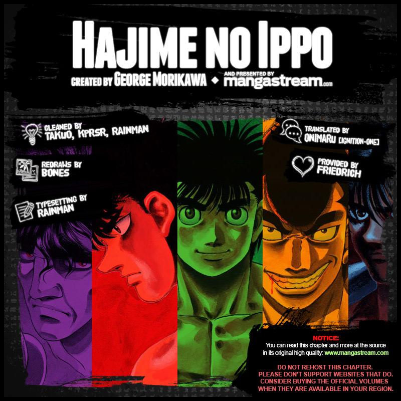 Hajime No Ippo 1163 En